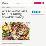 Win 1 of 20 Double Passes to a Grazing Board Workshop Experience at Midland Gate [WA]