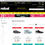 Selected adidas/ASICS/New Balance/Nike/Reebok/under Armour Shoes $50/Pair @ rebel (C&C or $3.99 Shipping)