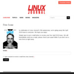 LinuxJournal April 2019 Free Issue (Email Required)