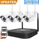 GENBOLT 10% off Wireless Security Camera System, $269.10 + Free Delivery @ GENBOLT Inc. via Amazon AU
