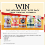 Win a Craft Beer & Merchandise Prize Pack Worth $300 or 1 of 5 T-Shirts from Dainton Brewery