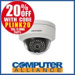 Hikvision DS-2CD2132F-I PoE 3mp Security Camera $79.20 + $15 Shipping (Free with eBay Plus) @ Computer Alliance eBay