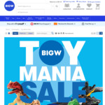 Toy Mania Sale - Hot Wheels 10pk $10, 15% off iTunes Gift Cards, 15% off Origin Gift Cards + More @ BigW
