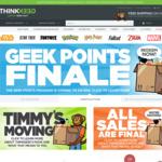 Website Shutting down Sale - 50% off Storewide (+ International Shipping) @ ThinkGeek