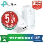 [eBay Plus] TP-Link AV2000 Powerline Adapter Kit (TL-PA9020P-KIT) /W AC Passthrough $97.75 Delivered @ Wireless1 eBay