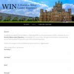 Win a Downton Abbey-Themed Holiday in London Worth $15,000 from Viking River Cruises