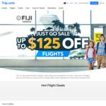 Sydney to Los Angeles Return $787, Melbourne $787 with Fiji Airways, Sydney to Nadi Return $543 via Trip.com