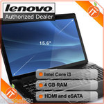"Lenovo G560 Core i3 Windows 7 HDMI 15"" 4GB Laptop $459 Shipped after Cash Back $409"
