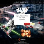 [NSW] Free Star Wars LEGO 'Make and Take' Session for Kids, 10am-4pm 12/10 @ David Jones (Sydney CBD) (Registration Required)