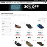 30% off Selected Styles, Men's Walu Slip-On $38.49, Specialist Vent Clog $48.99 & More + Free Delivery @ Crocs Australia