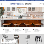 Boxing Day Special - 20% off All Bar Stools + Free Shipping @ Bar Stools Online