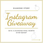 Win a Diamond Ring Valued at over $2500 from Diamond Story