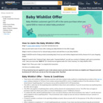 $15 off When You Spend $59 or More on Baby Products @ Amazon AU