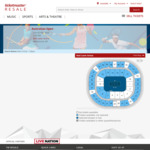 [VIC] Australian Open - Men's Final - Prices from $218 (ex Processing Fees) @ Ticketmaster