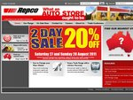 Repco 20% OFF This Weekend