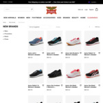 $89 ASICS Online   $79 New Balance Sneakers   Free Delivery over $80 @ Rivers