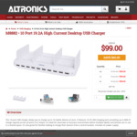 10 Port 19.2A Unitek USB Charger - $99 + $13 Express Shipping. Was $159 - altronics.com.au