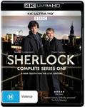 Sherlock S1 4K Blu-Ray (2 Disc) $5.99 + Delivery ($0 with Prime/ $39 Spend) @ Amazon AU