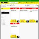 Samsung Smart Door Locks Full Range on Sale Start $199 @ JB Hi-Fi