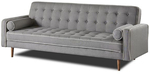 Sofia Sofa Bed/ Fold out Sofa Bed - Grey $229.99 Delivered @ Priceworth via Catch