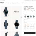 Fossil Watches Click Frenzy 20% off - Fossil Sport ($159.60 with Free Shipping)