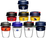 15% off AFL Clear Keep Cups from $18 + $8.50 Shipping @ The Barista House
