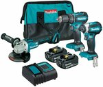 Makita 18V 3pce Brushless Cordless Combo $410 (Was $559), LXT 18V 2pce Brushless Cordless Kit $500 (Was $649) + More @ Bunnings