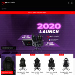 20% off All Gaming Chairs, 25% off Combination Desk + Chair