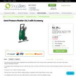 Gerni Pressure Washer 115.3 with Accessory || $30 Delivered @ Shopzero