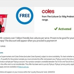 Collect 1 Free The Culture Co 150g Probiotic Kefir Range via flybuys @ Coles