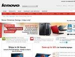 Lenovo Christmas Savings 4 Day Sale - 10%-30% off ThinkPad & ThinkCentre