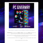 Win a Trixel RTX 3070 Gaming PC Worth $4,050 from Aftershock PC/AORUS/Intel