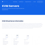 40% off Melbourne KVM VPS - NVMe/SSDs - Gigabit Connection - Latest Intel CPUs from $4.80/mo @ Servers Galore