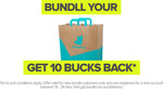 (New Customers) $10 Bundll Credit with $10 Spend on Deliveroo
