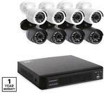 8x Camera Home Security System with 1TB DVR $299 @ ALDI