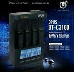 [eBay Plus] Opus BT-C3100 V2.2 4-Slots Smart Battery Charger Li-ion NiMH $56.91 Shipped @ LANplus Australia eBay