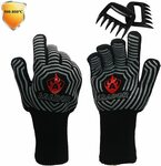 Heat Resist BBQ Gloves $21.65 + Delivery ($0 with Prime/ $39 Spend) @ Prana Products Amazon AU