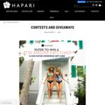 Win a US$750 Airline Gift Card & US$250 Swimwear Gift Card from Hapari