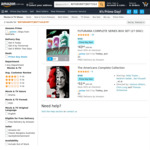 [Prime] The American Complete Collection DVD Boxset $25.99, Futurama Complete Series DVD $22 Delivered @ Amazon AU