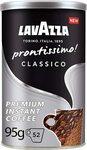Lavazza Prontissimo Classico, 100% Arabica, Medium Roast Instant Coffee $3 (S&S $2.70) + Post ($0 Prime/ $39 Spend) @ Amazon AU