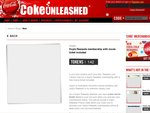 Hoyts Rewards Membership with Movie Ticket Included - Coke Unleashed 142 Tokens