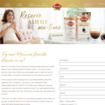 Free Moccona Barista Reserve Sample (Classic Crème Instant or Latte Capsules)