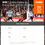 Win 2 Tickets to Every State of Origin Game in 2022 (Includes Airfares and Accommodation) Worth up to $9,200 from Coates