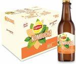 Lipton Kombucha: White Peach / Apple & Pear, 12x 330ml $16.16 / $16.45 (RRP $36.56) + Delivery ($0 Prime/ $39 Spend) @ Amazon AU