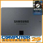 """Samsung 870 QVO 8TB 2.5"""" SATA III SSD $699 Delivered + $150 Steam Credit via Redemption @ Computer Alliance eBay"""
