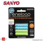 Sanyo Eneloops 4x AAA or 4x AA $9.95 + $1.95 Delivery