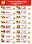 Hungry Jacks Vouchers: Valid for All States thru 1 Dec 2012