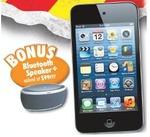 iPod Touch 16GB (4th Gen) with Bonus GVA BT Speaker $178, Samsung Blu-Ray Player $69 @ The GG