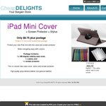 iPad Mini Covers $7.75 + Postage ($1.20; Free if Ordering Two Covers)