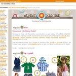 Stylish Kiddish: Now 35% off All Summer Clothing! That's Bargain!
